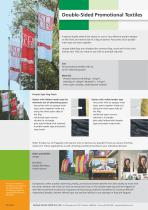 Double-Sided Promotional Textiles - 2