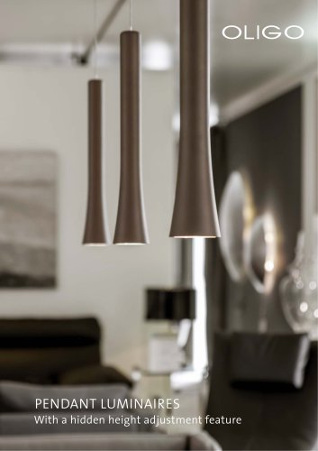 PENDANT LUMINAIRES WITH HIDDEN HEIGHT ADJUSTMENT