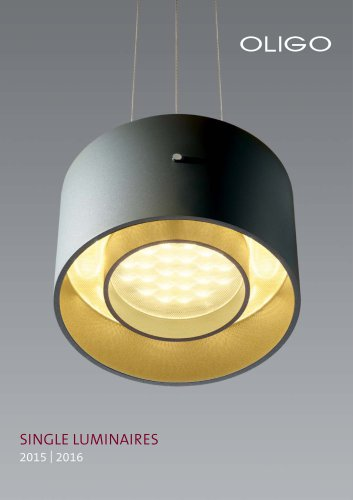 SINGLE LUMINAIRES 2015 - 2016