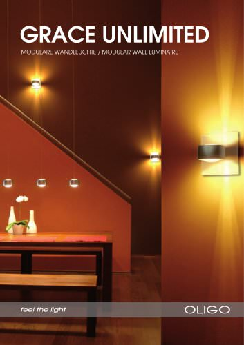 Wall luminaire GRACE UNLIMITED brochure