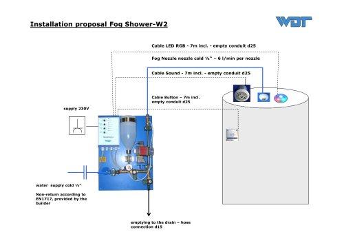 Fog Shower-W2