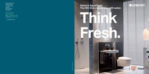 Aquaclean Think Fresh