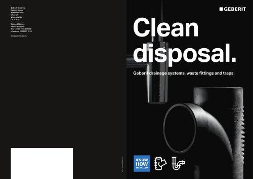 Clean disposal
