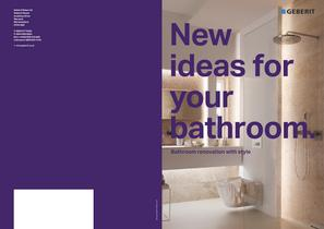 New ideas for your bathroom