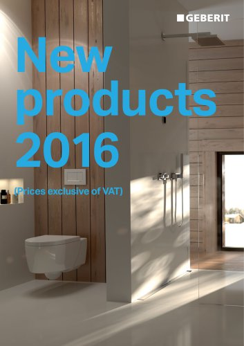 New products 2016