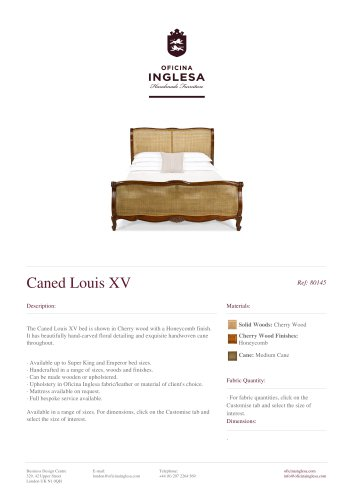Caned Louis xv