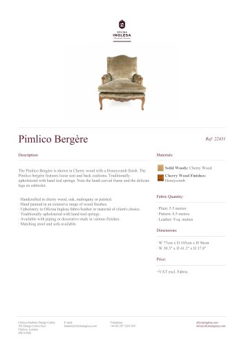 Pimlico Bergère