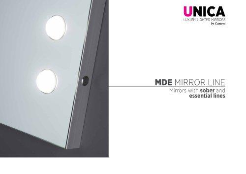 Unica, MDE mirrors line Catalogue