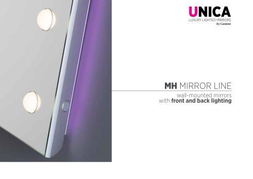 Unica, MH mirrors line Catalogue