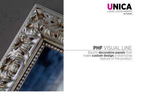 Unica, Visual Line Catalogue PHF