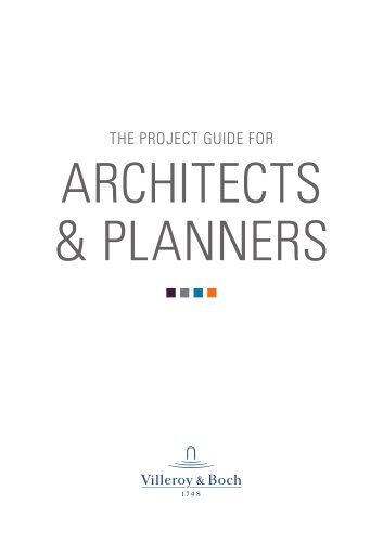 The project guide for architects & planners