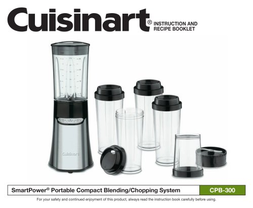 Compact Portable Blending/Chopping System (CPB-300)