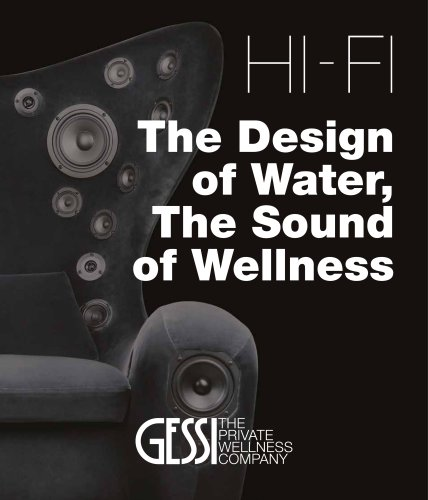 The Design of Water, The Sound of Wellness