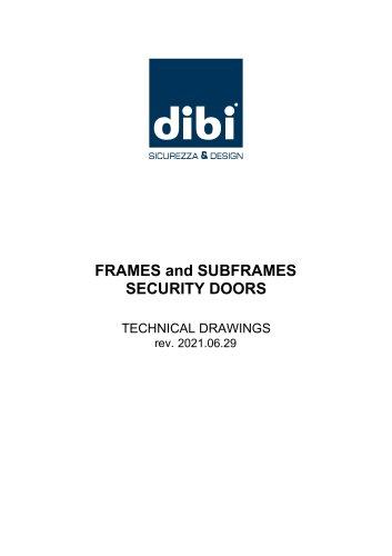 Installation solutions for Di.Bi. security doors
