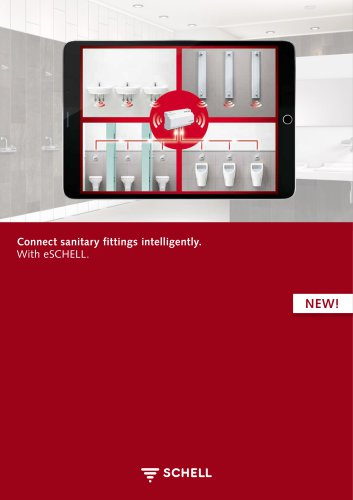 Connect sanitary fittings intelligently.