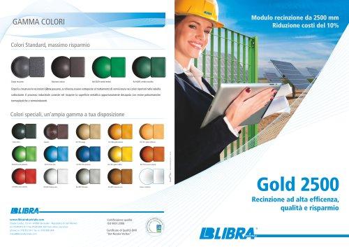 Grating fences Gold 2500