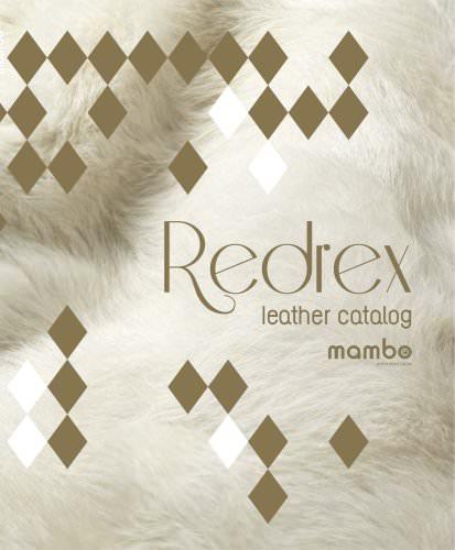 Redrex leather catalog