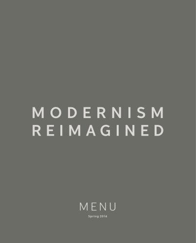 MODERNISM REIMAGINED