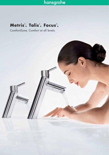 Metris, Talis and Focus mixers