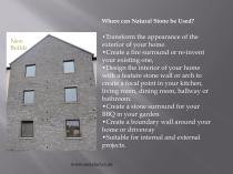 NEW PRODUCT Stone cladding slip from Eazy Clad - 4