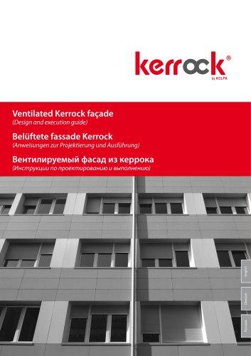 Ventilated Kerrock façade