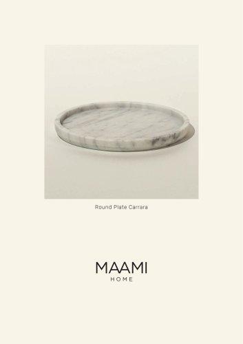 Round Plate Carrara factsheet