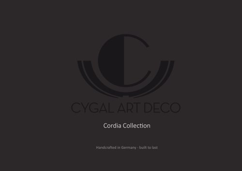 Cordia Collection