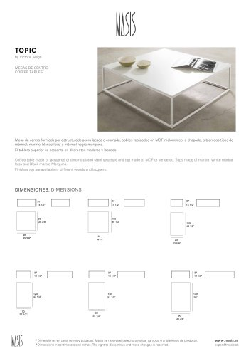 CUBIC SMALL TABLES