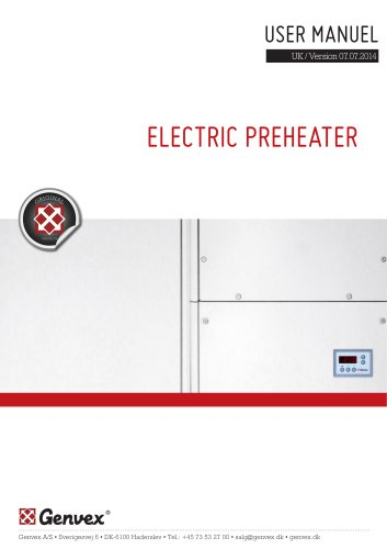 ELECTRIC PREHEATER