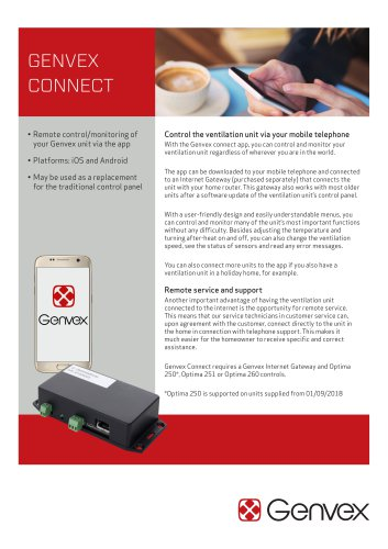 GENVEX CONNECT