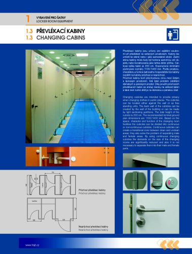 Dressing cubicles