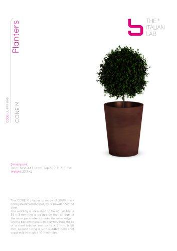 CONE M Planters