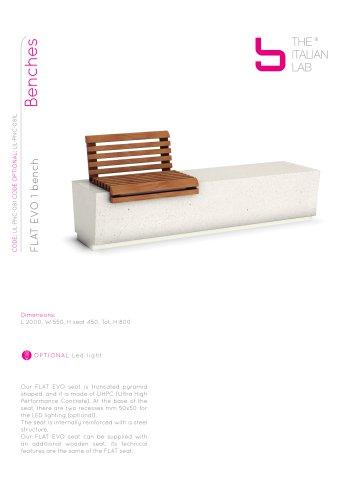 FLAT EVO 1 bench Benches