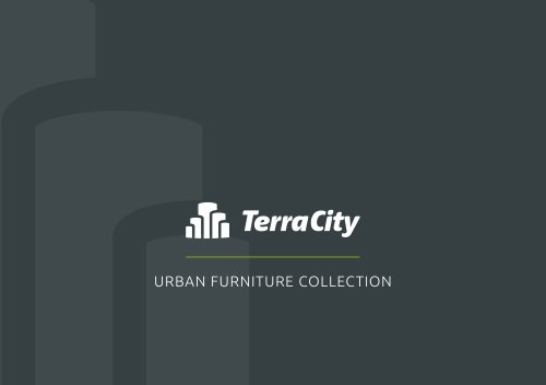 TerraCity – Urban Furniture Collection