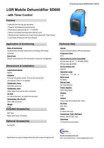 SD600 LGR