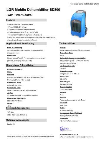 SD800 LGR