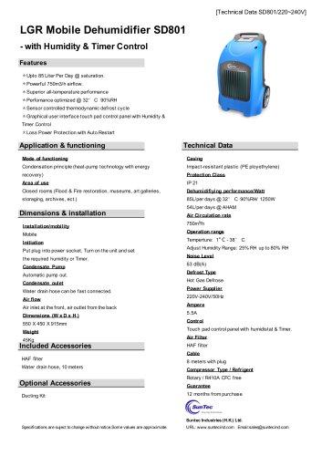 SD801 LGR