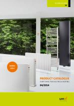 PRODUCT CATALOGUE EVERYTHING FOR ELECTRICAL HEATING 04/2014
