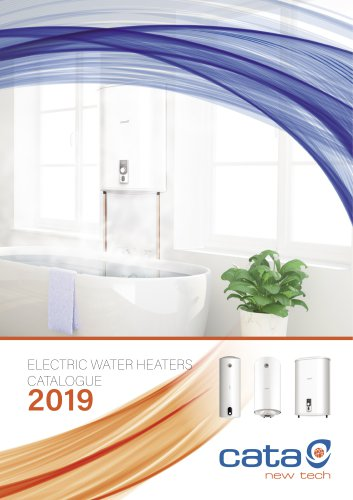 NEW CATALOG ELECTRIC WATER HEATERS 2019