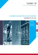 LAYHER Allround scaffolding shoring TG 60