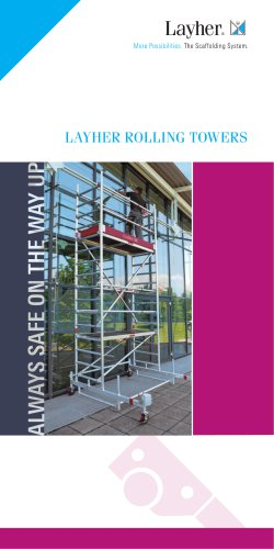 LAYHER ROLLING TOWERS