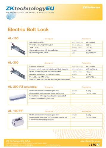 Electric Bolt Locks - ZKTeco - PDF Catalogs | Documentation