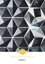 Facet - Freestanding Room Divider