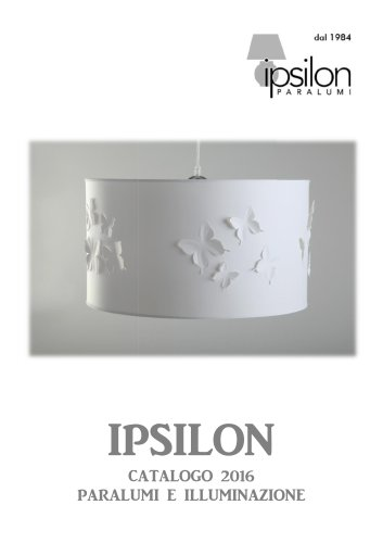 IPSILON 2016 - LAMPSHADES & LIGHTING