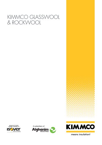 KIMMCO Glasswool & Rockwool