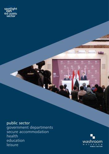 Washroom public sector brochure