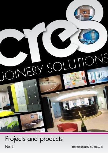 Washroom specialist joinery brochure