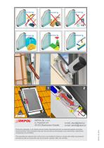 Installation instructions Centre - pivot windows - 16