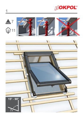 Installation instructions Centre - pivot windows