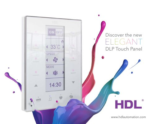 DLP Touch Panel Catalog